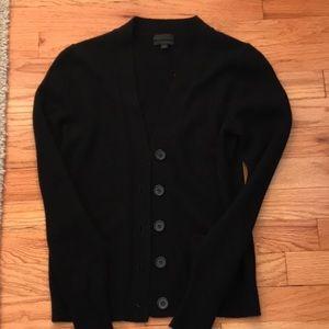 J crew cashmere cardigan lightly worn size xs